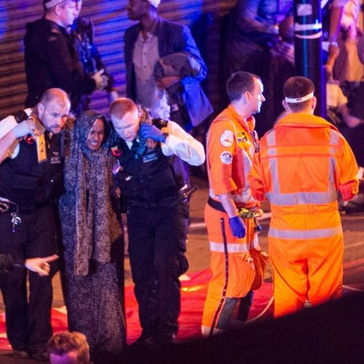 London mosque attack suspect named, according to media outlets