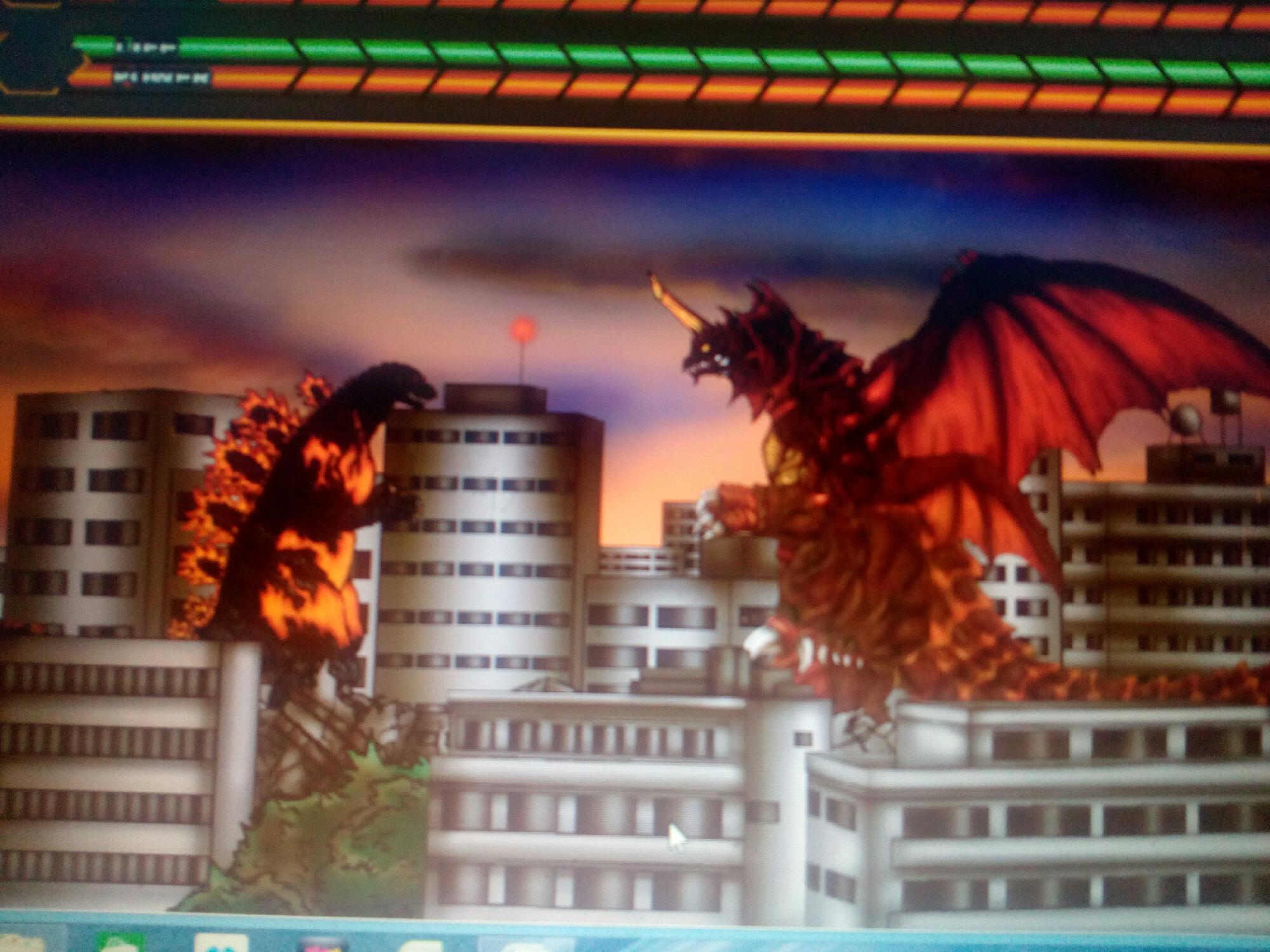 Godzilla vs destroya