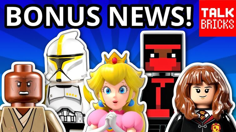 BONUS LEGO NEWS! UCS Republic Gunship? Mario Peach's Castle?! Skywalker Saga! Volkswagen Camper!