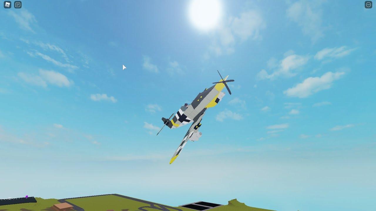 How to make a BF 109 G6 (Part 1) | Plane crazy | roblox