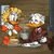 Scrooge and Goldie