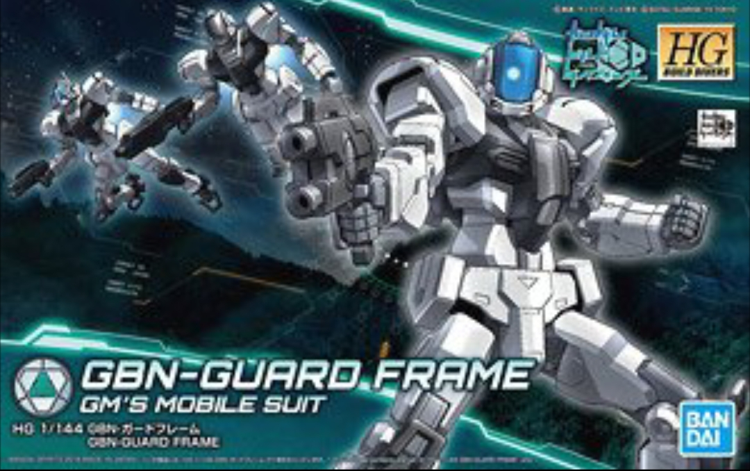 Can i place it Changeling Rifle at the GBN Guard Frame bacpack?