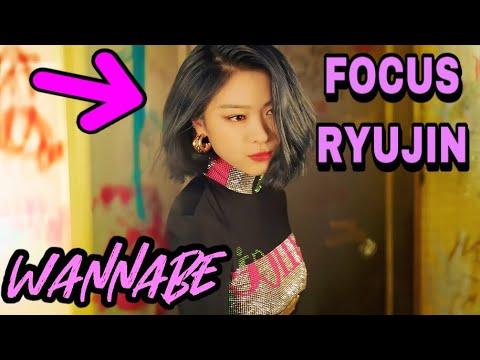 ITZY - WANNABE MV (Ryujin focus)