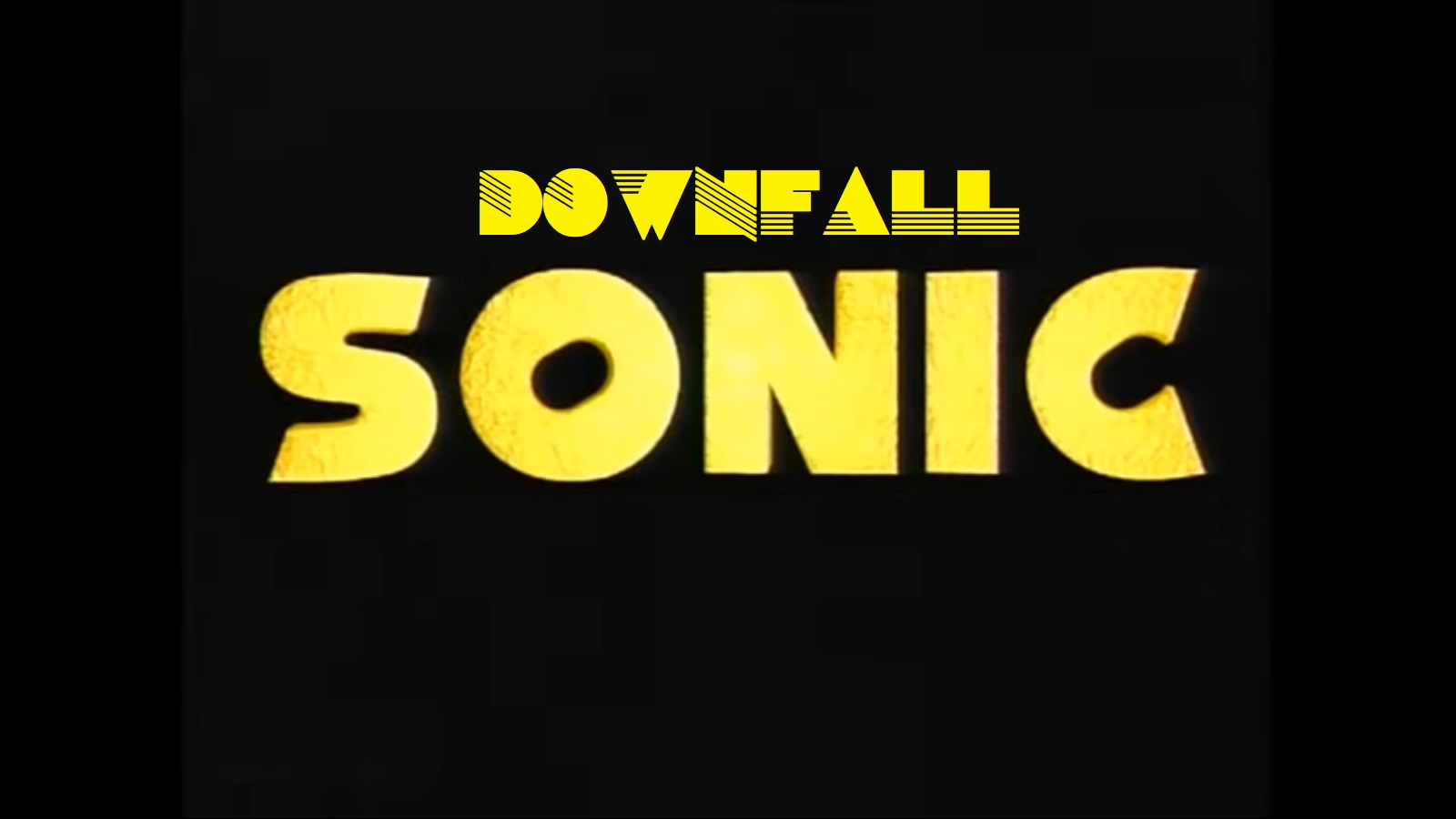 Downfall Sonic appeared!