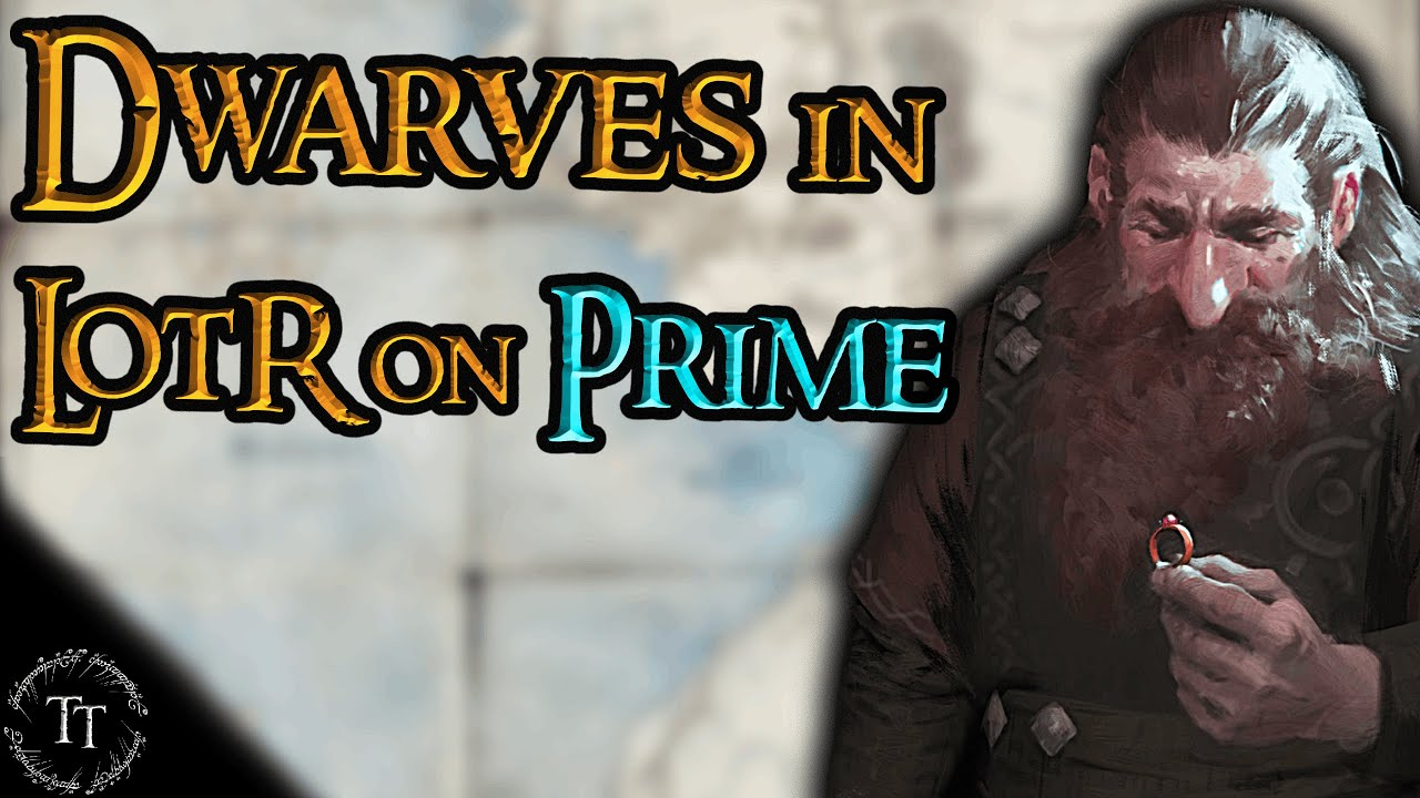Dwarves in LotR on Prime CONFIRMED | All about Dwarves in LotR on Prime