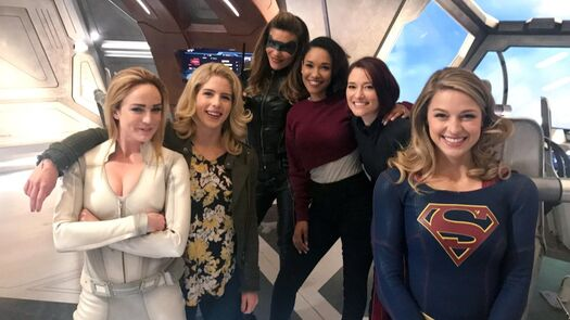 Arrowverse stars Caity Lotz and Candice Patton aim to bring women together with Shethority website