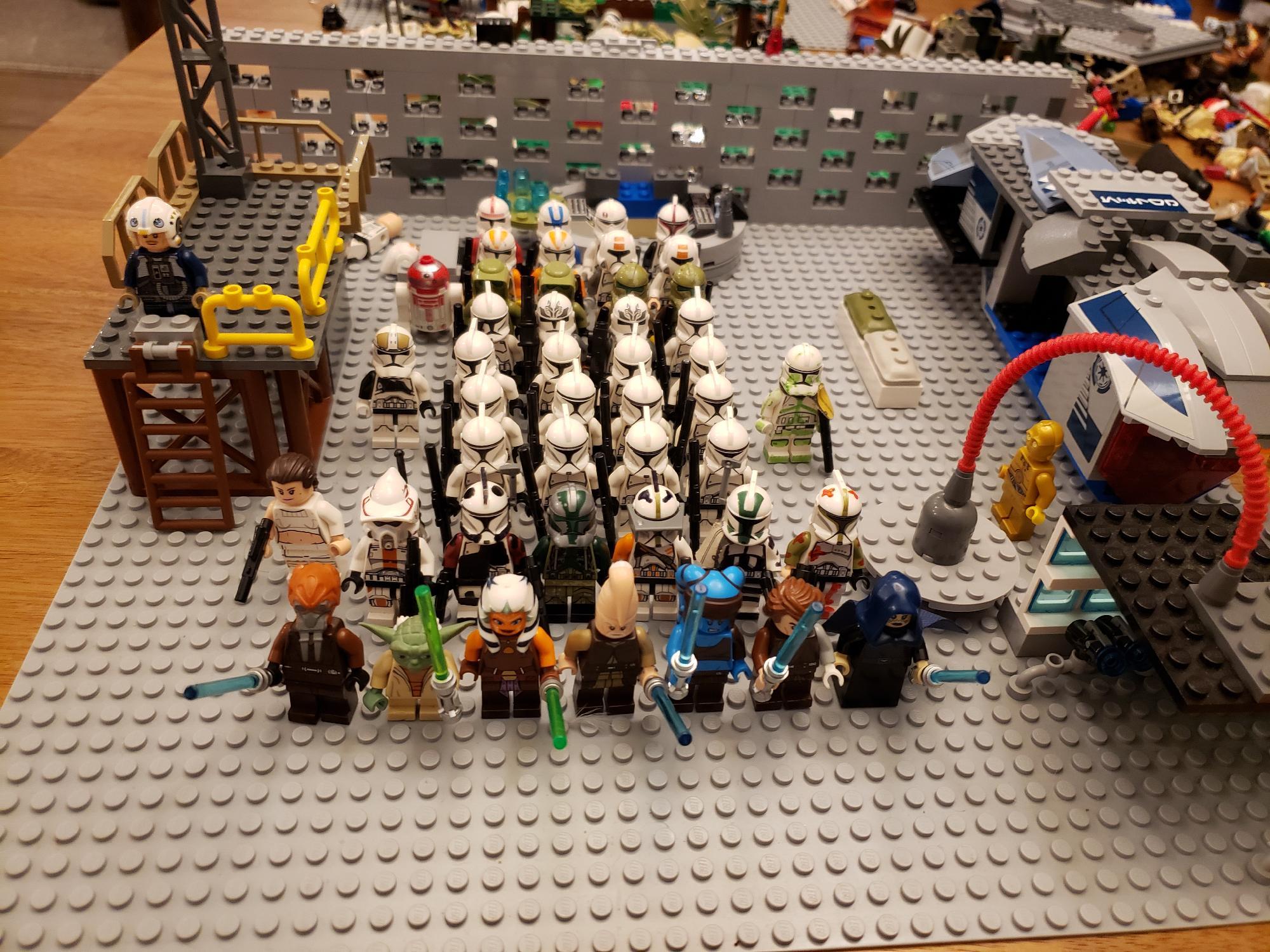 Entire lego clone army