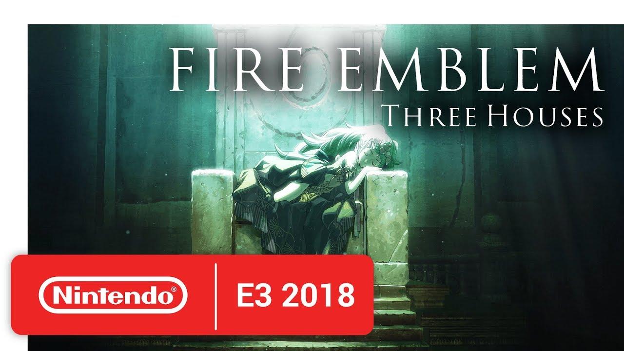 Fire Emblem Three Houses - Official Game Trailer - Nintendo E3 2018