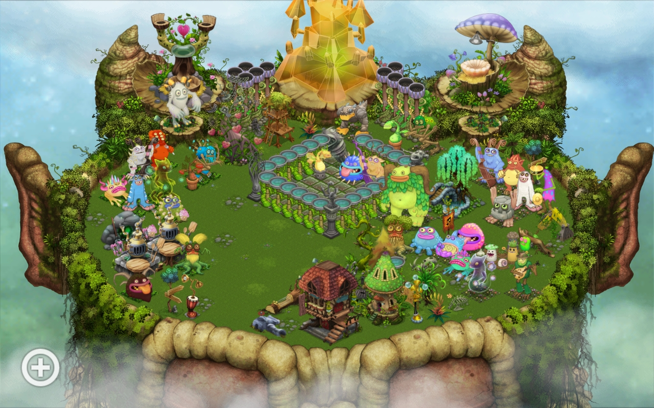 Re-decorated Plant Island