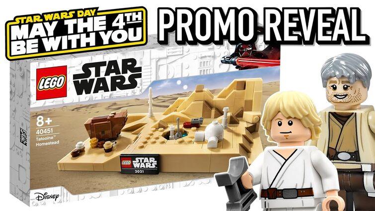 LEGO Star Wars May the 4th 2021 Promo OFFICIALLY Revealed - Tatooine Homestead