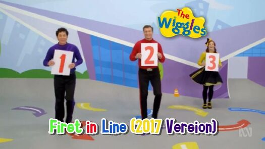 The Wiggles - First in Line (2017 Version)
