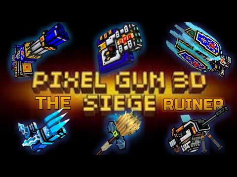 """THE ULTIMATE """"SIEGE"""" RUINER - Pixel Gun 3D"""