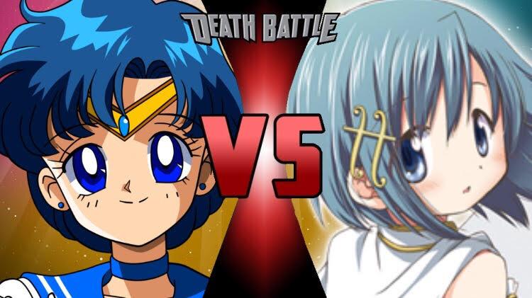 Sailor Mercury vs sayaka