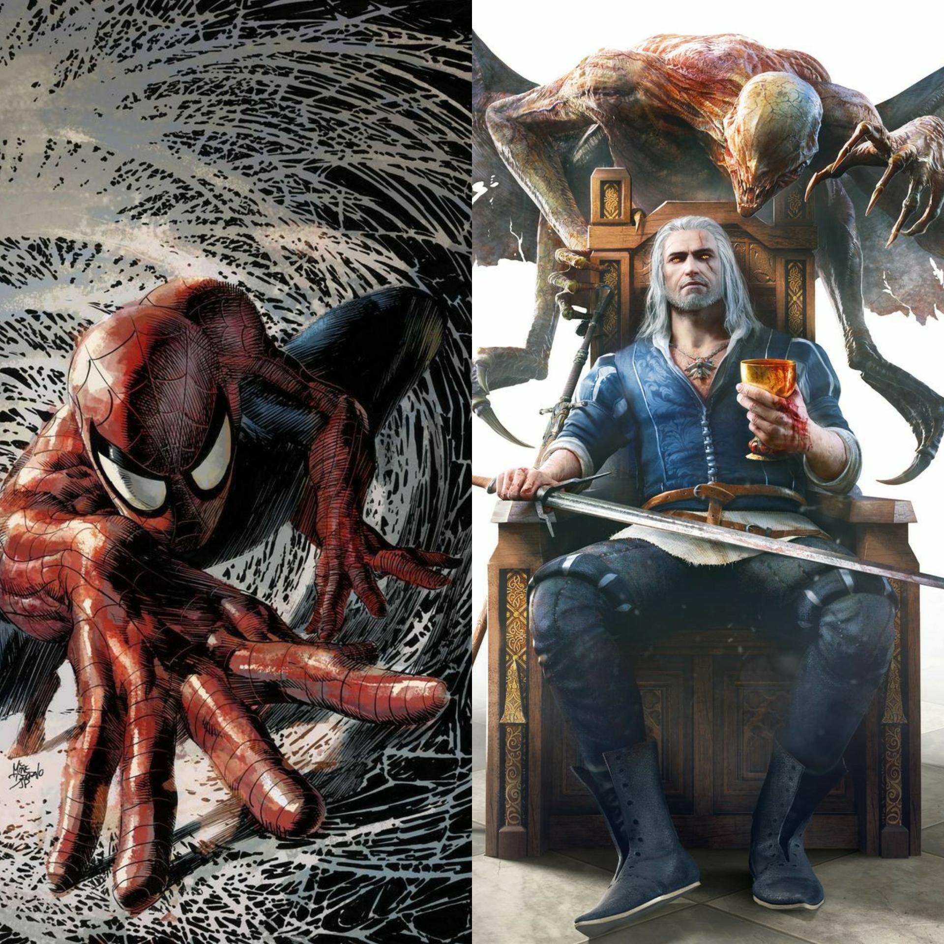 Peter Parker vs Geralt of Rivia