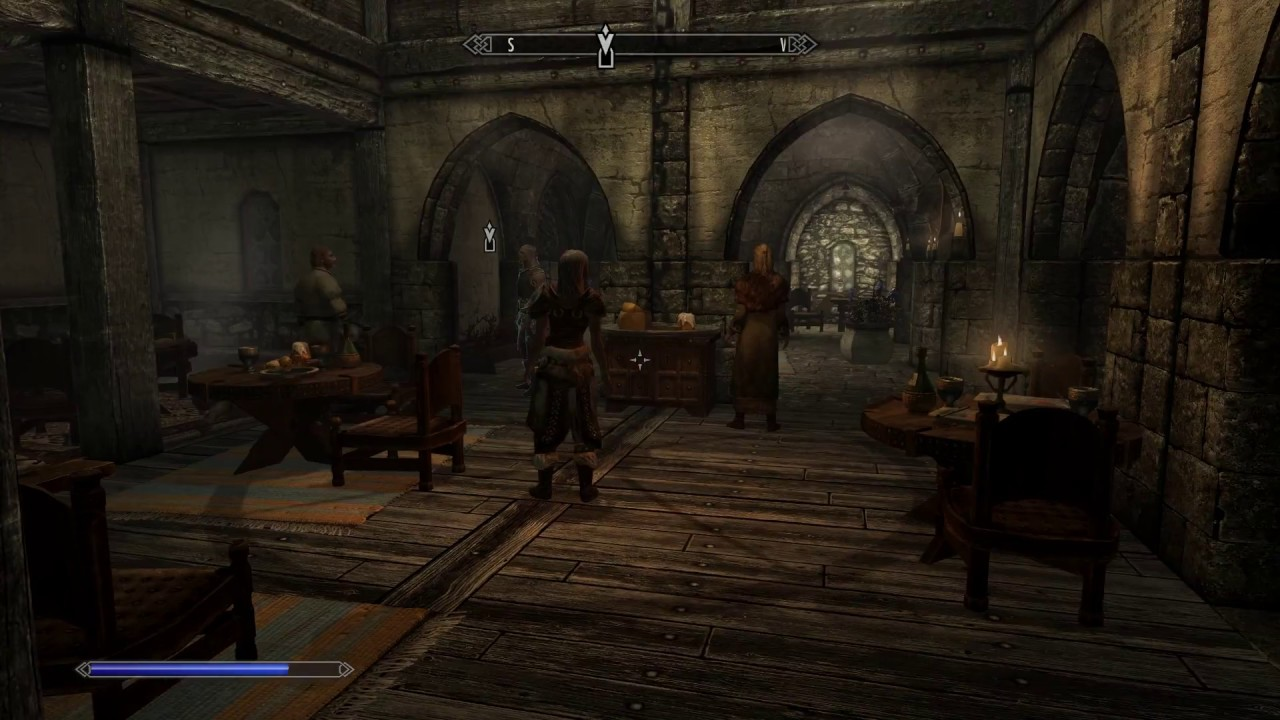 the skyrim fury spell is the best thing in the history of gaming