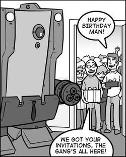 Ooh, a birthday party!