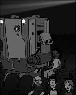 Problem: depression. Solution: movie.