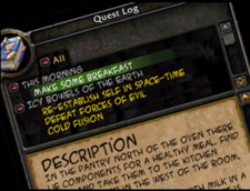 I'd skip the first quest.