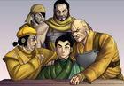 The muggers ambushing Wong
