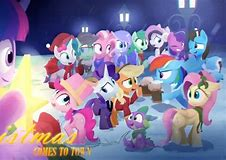 my friends and other 8 ponies and spike