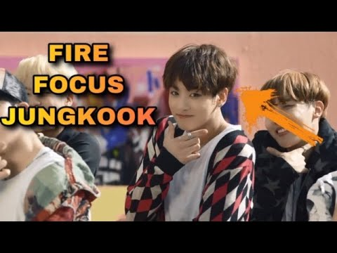 Focus Jungkook in FIRE MV