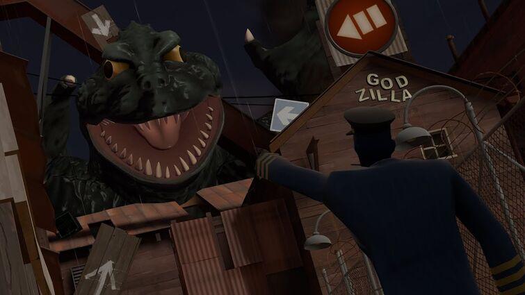 The Spy Fights Godzilla ᶠᵒʳ ˢᵒᵐᵉ ʳᵉᵃˢᵒⁿ
