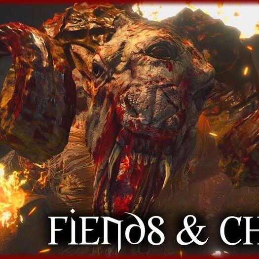 Witcher 3 - Fiends and Chorts - Witcher Lore & Mythology