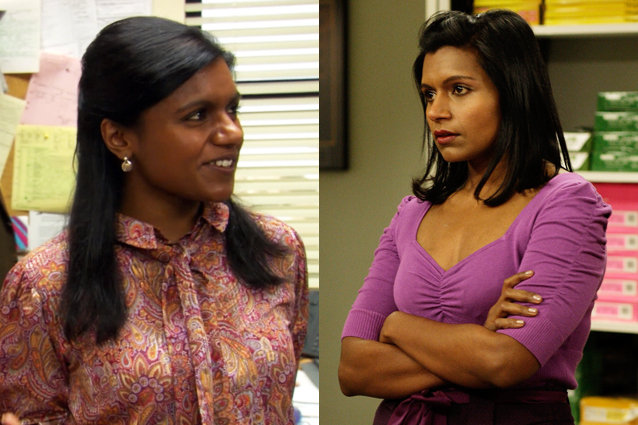 Notice the change of Kelly from season 1 to season 9. Ryan Howard had a big effect on her.