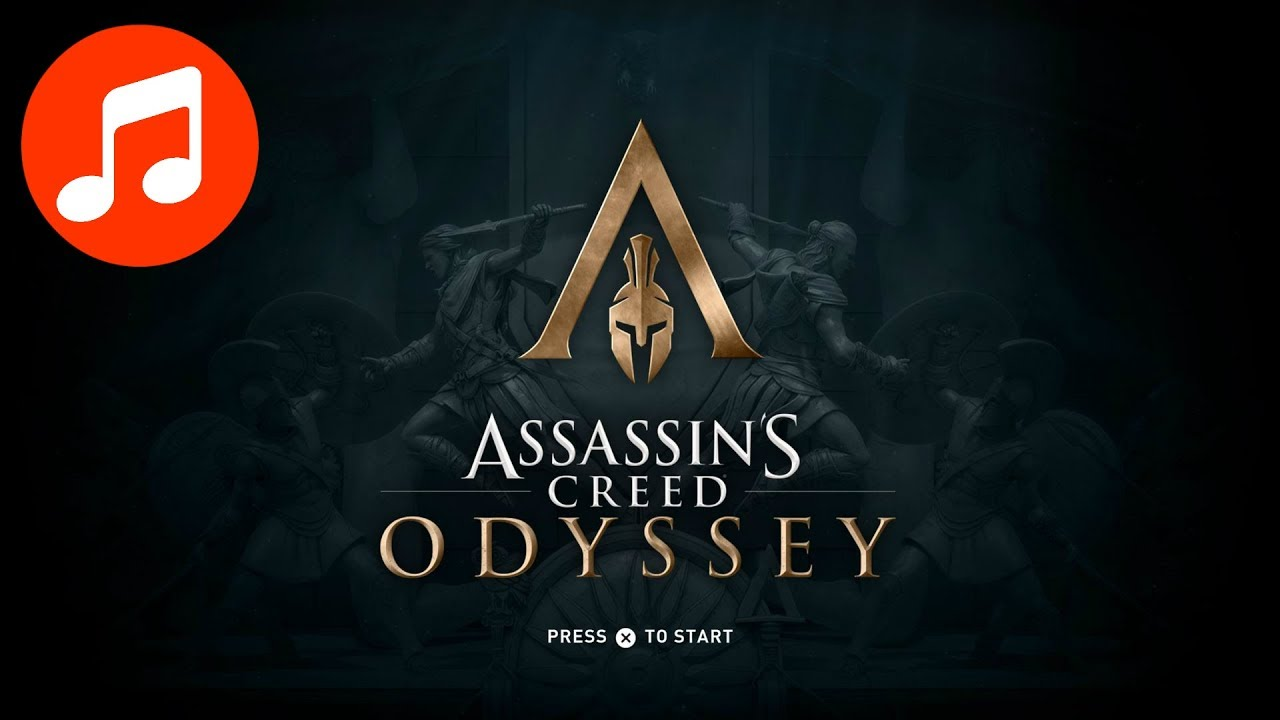 ASSASSIN'S CREED ODYSSEY Music 🎵 Title Screen 10 HOURS (Assassin's Creed Odyssey Soundtrack | OST)