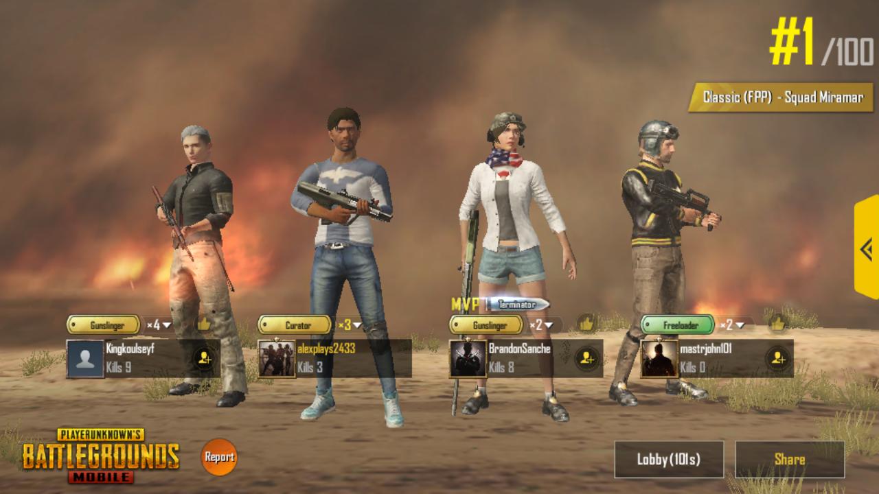 I f**king won