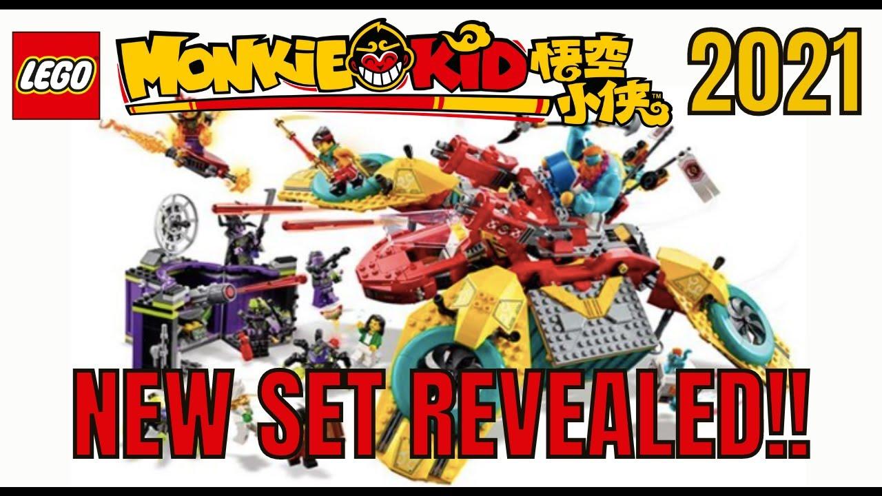 New Lego Monkie Kid  2021 Set Revealed!!!