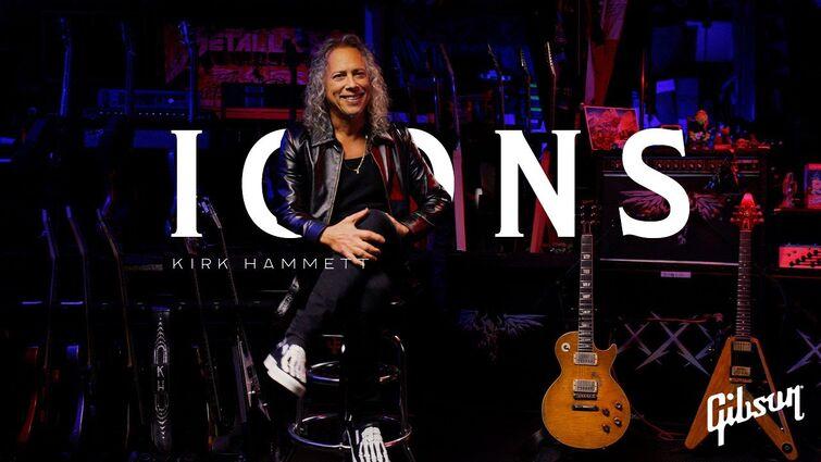 Icons: Kirk Hammett of Metallica