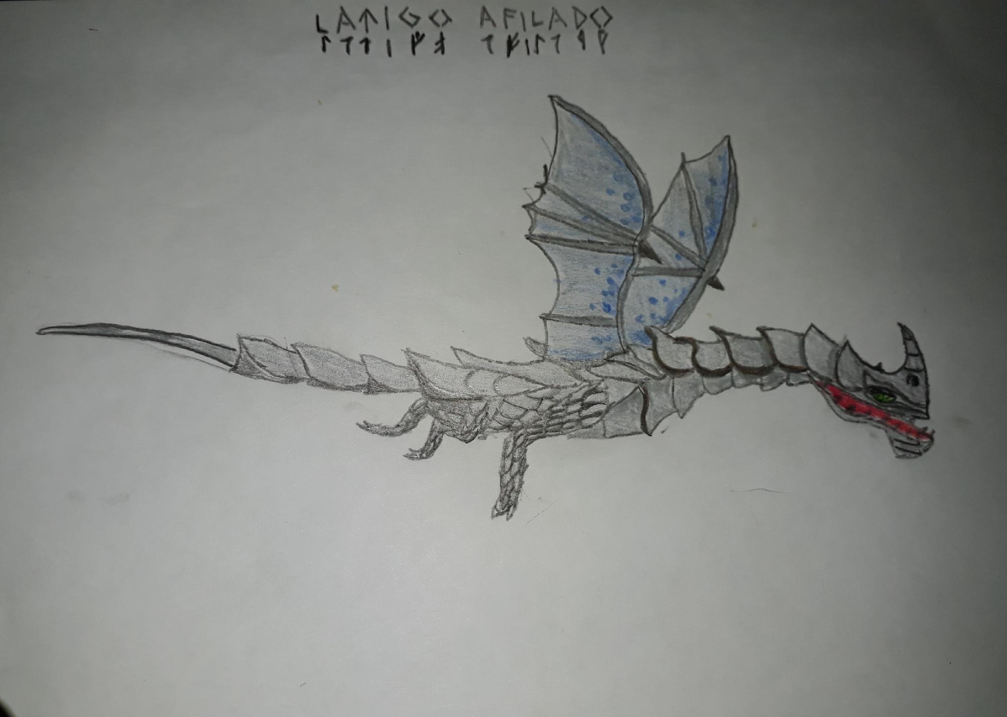 Dragon #7 (latigo afilado)