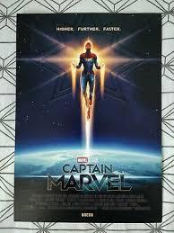 lmao got a captain marvel poster when I went to go see Shazam! the irony XD