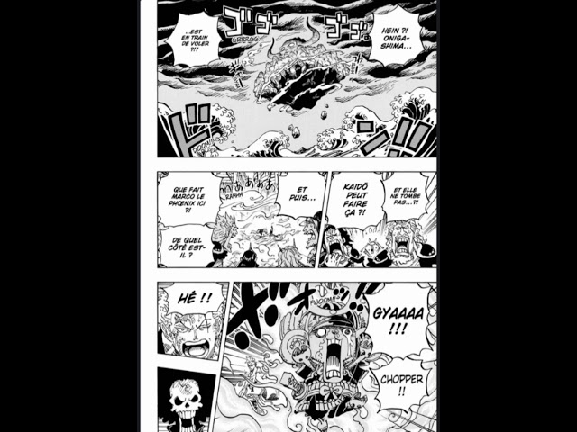 One piece Chapitre 998 SCAN VF
