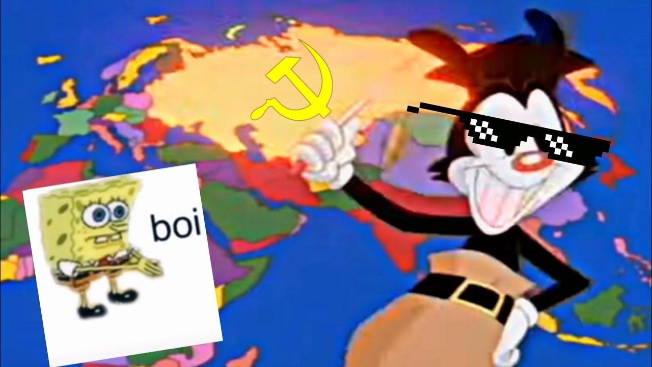 yakko's world but every country is a meme | yakko's world meme