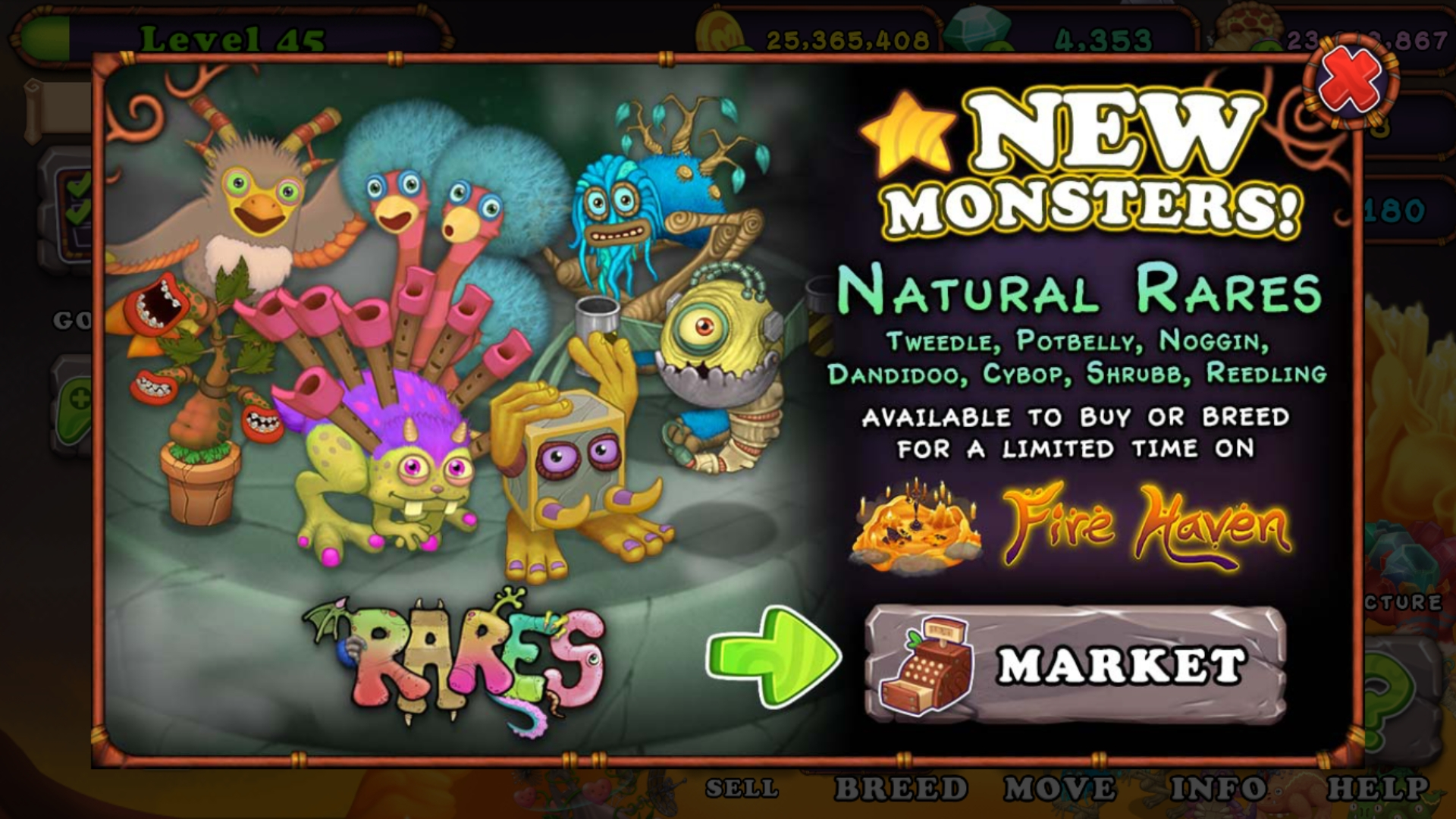 Natural Rares On Fire Haven!