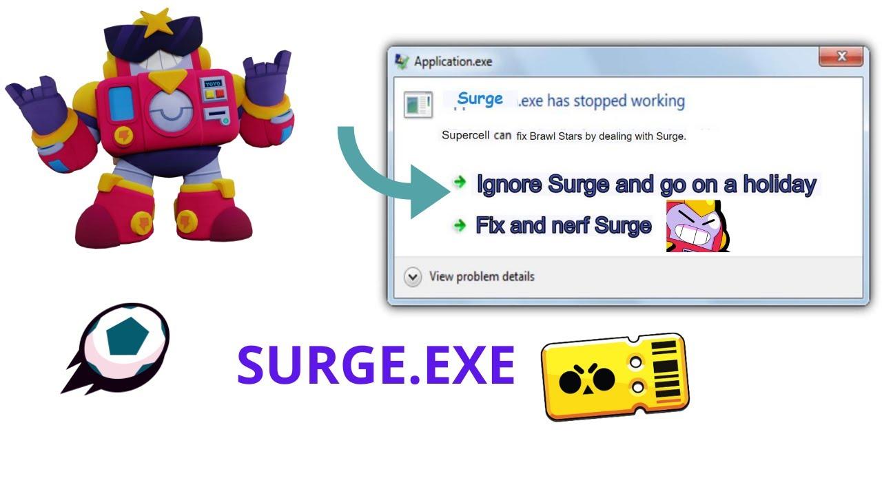 SURGE.EXE -- Fix Surge