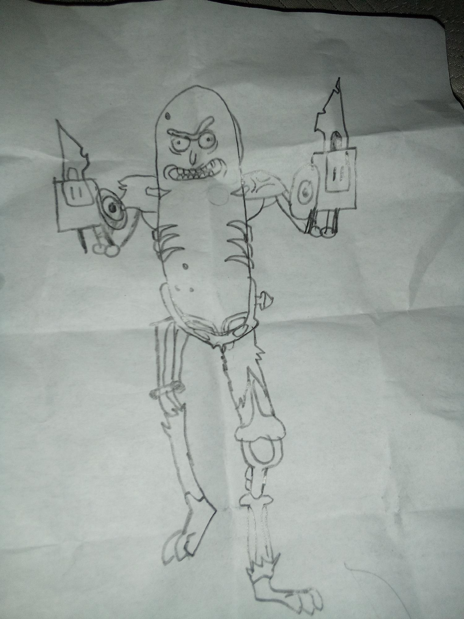 Mi dibujo y yo tengo 12 años
