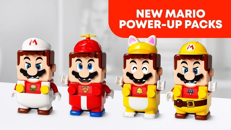 NEW LEGO Super Mario Power-Up Packs!