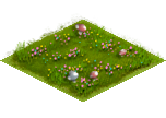An unlocked farmland tile within a settlement.