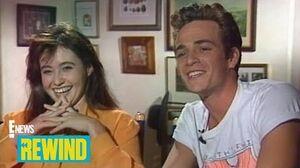 """E!'s First """"Beverly Hills, 90210"""" Set Visit Rewind E! News"""