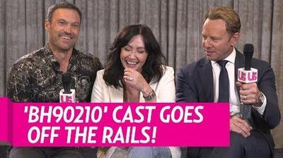 BH90210 cast go off the rails!