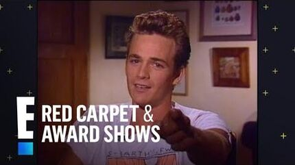 """E! Remembers """"Beverly Hills, 90210"""" Star Luke Perry E! Red Carpet & Award Shows"""