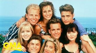 Ian Ziering and Gabrielle Carteris talk 'Beverly Hills, 90210' 30th anniversary