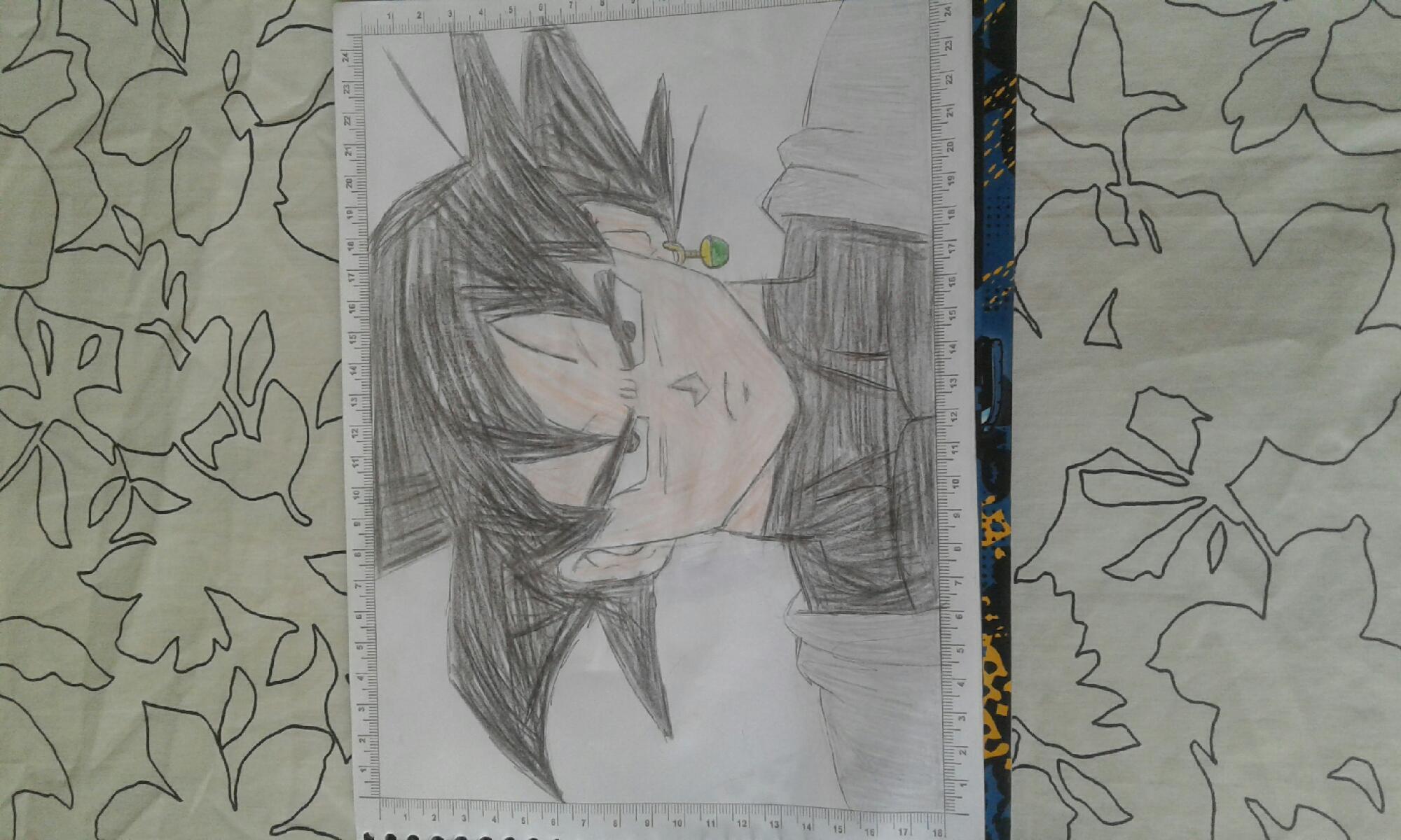Olha meu desenho ficou bom ?