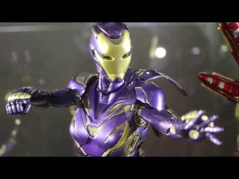 "First Look ! Hot Toys Avengers: Endgamr ""Iron Man Mark 49 Pepper Potts Rescue Armor"""