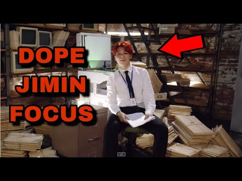 Focus Jimin in DOPE MV