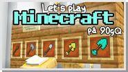 LP Minecraft på 90gQ 189 - TOFFES KLUBBAR!