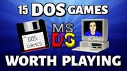 15 DOS Games Still Worth Playing (MS-DOS)